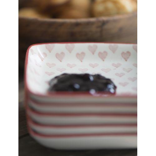 IB LAURSEN / Mini tanierik/podalka Heart