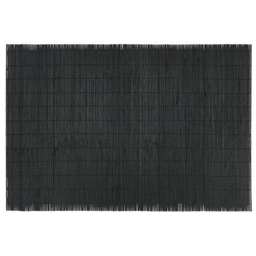 IB LAURSEN / Bambusové prestieranie Black 43 x 30 cm