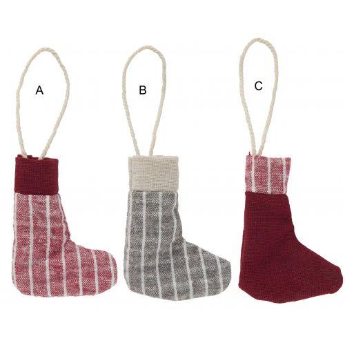IB LAURSEN / Vianočná textilná ozdoba Christmas Sock