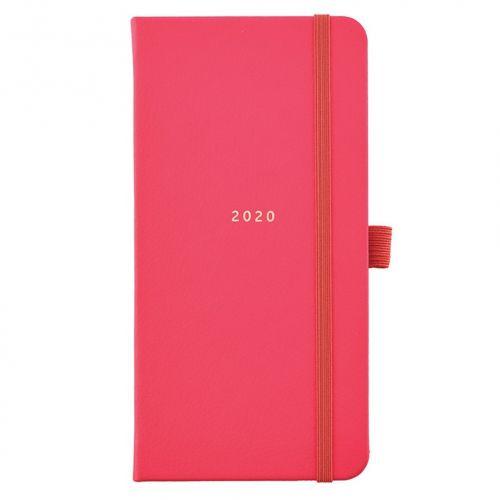Busy B / Plánovací diár Perfect Red Diary Slim 2020
