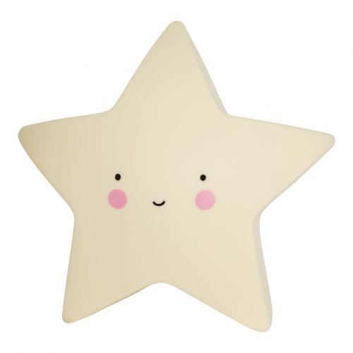 A Little Lovely Company / Nočná LED lampička Yellow star