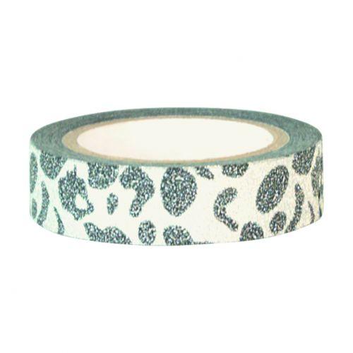 GREEN GATE / Designová páska Leopard warm grey