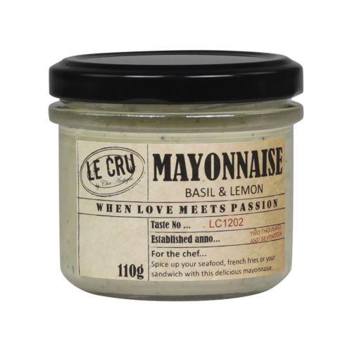 LE CRU Delicacies / Citronová majonéza s bazalkou 110gr