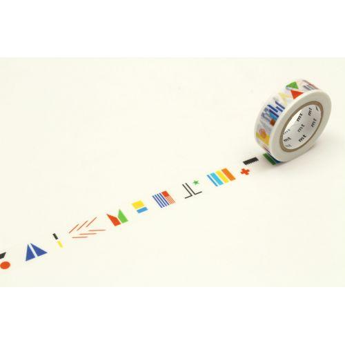 mt / Japonská papierová páska Making Worlds