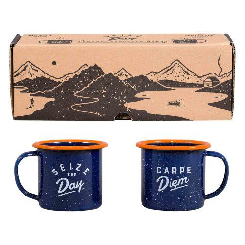 GENTLEMEN'S HARDWARE / Sada plecháčikov na espresso Carpe Diem
