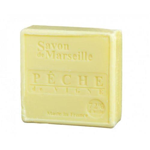 LE CHATELARD / Mýdlo Marseille 100 g čtverec - divoká broskev
