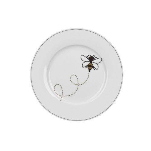 Krasilnikoff / Porcelánový dezertný tanier Bee