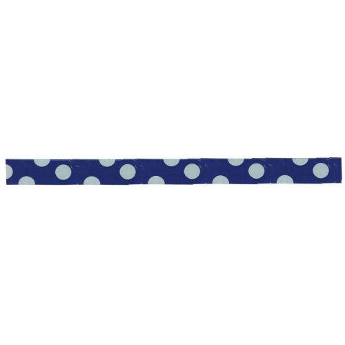 Maileg / Puntíkovaná stuha blue