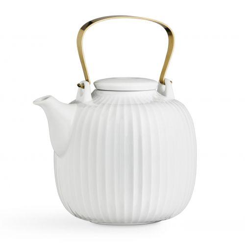 KÄHLER / Porcelánová čajová kanvica Hammershøi White