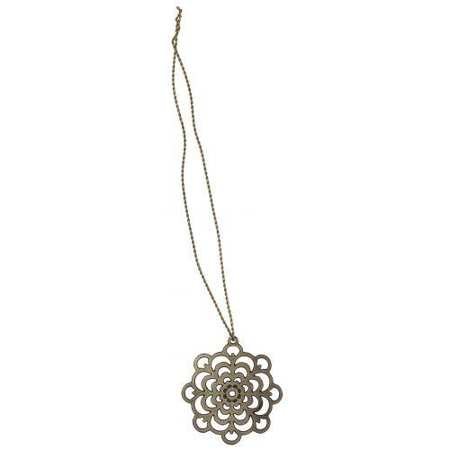 IB LAURSEN / Kovová ozdôbka Golden Wire