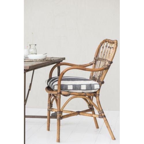 IB LAURSEN / Štýlová ratanová stolička Natural