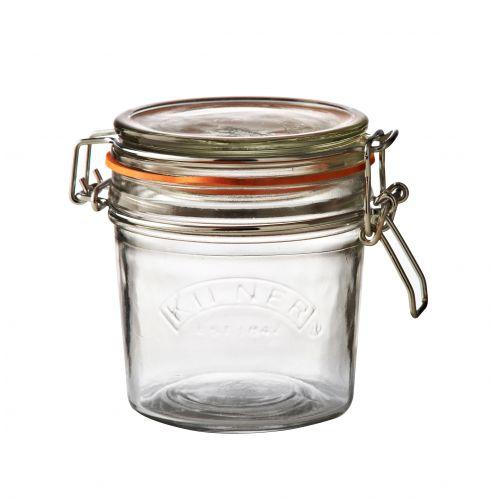 KILNER / Okrúhly zaváračkový pohár s klipsom 350 ml