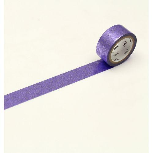 mt / Metalická japonská papierová páska Purple Dust