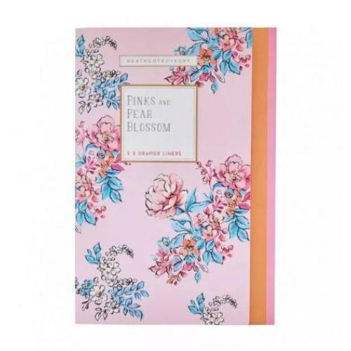 HEATHCOTE & IVORY / Vonné listy do skrine Pinks & Pear Blossom - 5 ks