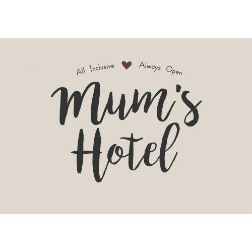 IB LAURSEN / Plechová ceduľa Mum's Hotel