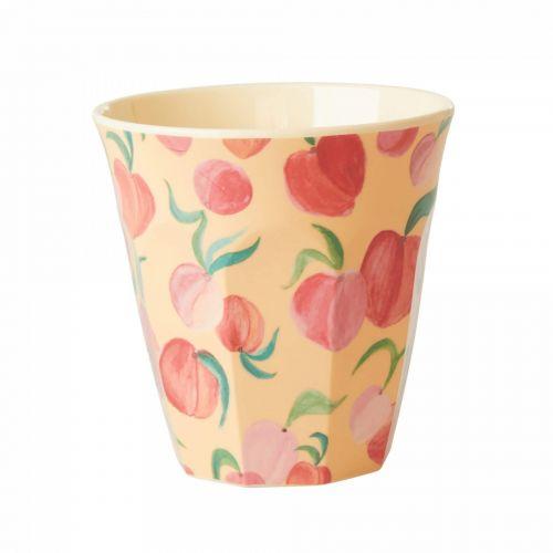 rice / Melamínový hrnček Peach Print
