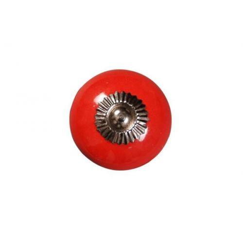 La finesse / Porcelánová úchytka Red 4 cm