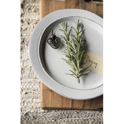 IB LAURSEN / Keramický tanier Grey Dunes 22cm