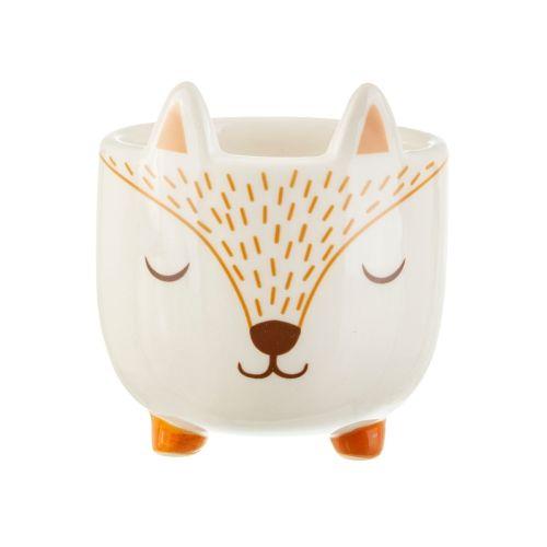 sass & belle / Keramický obal na kvetináč Woodland Fox Mini