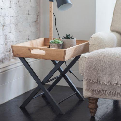 Garden Trading / Skladací stolček Carbon Oak