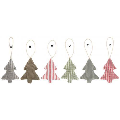IB LAURSEN / Vianočná textilná ozdoba Textile Christmas Tree