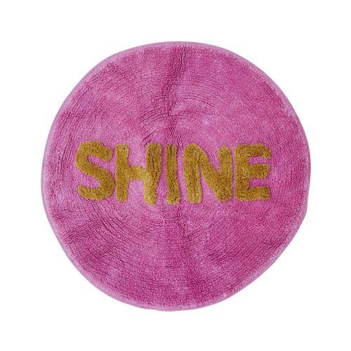 rice / Kúpelňová predložka Shine Pink 75cm