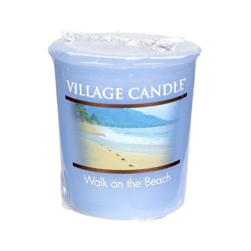 VILLAGE CANDLE / Votivní svíčka Village Candle - Walk on the beach