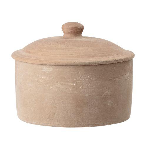 Bloomingville / Keramická dóza Orange Terracotta Jar