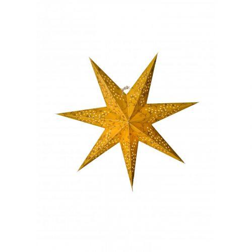 watt & VEKE / Závesná hviezda Beatrix Gold 44 cm