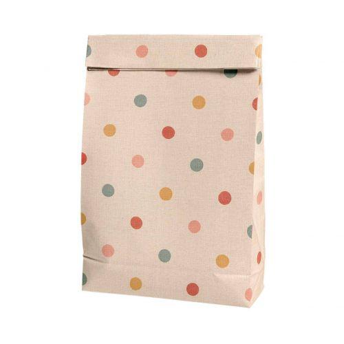 Maileg / Papierový sáčok Multi Dots - väčší