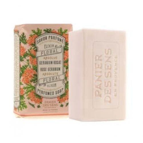 Panier des Sens / Parfemované mýdlo Rose Geranium 150 g