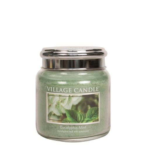VILLAGE CANDLE / Sviečka Village Candle - Eucalyptus Mint 389g
