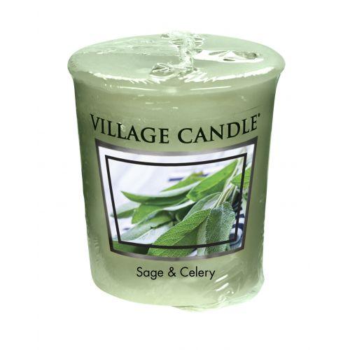 VILLAGE CANDLE / Votívna sviečka Village Candle - Sage & Celery