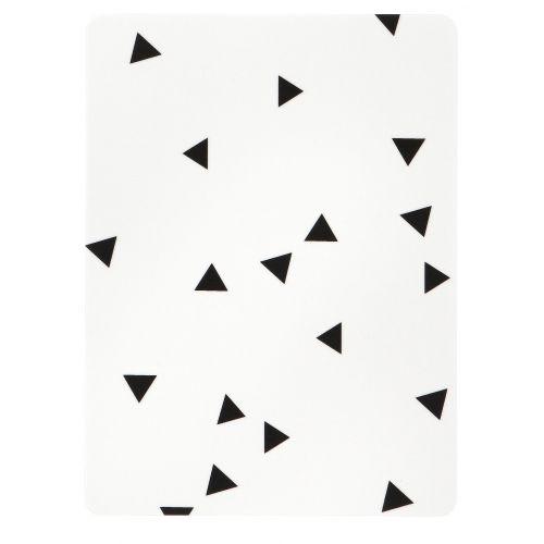 ferm LIVING / Servírovacia doštička Black mini Triangle