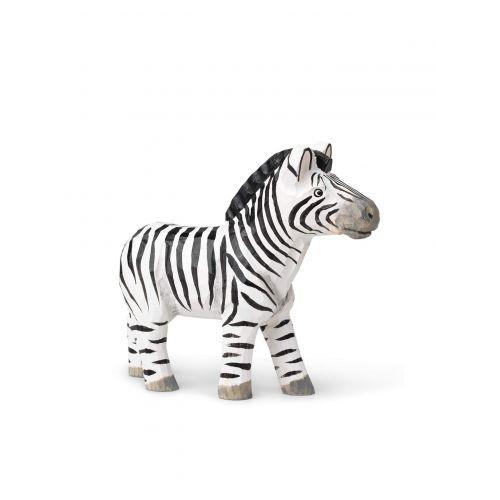 ferm LIVING / Drevená vyrezávaná hračka Zebra