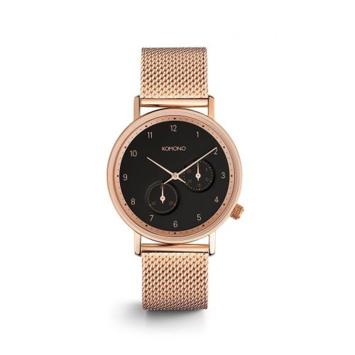 Komono / Unisex hodinky Komono Walther Rose Gold Mesh