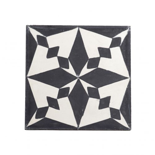 Tine K Home / Cementová kachlička Black Pole