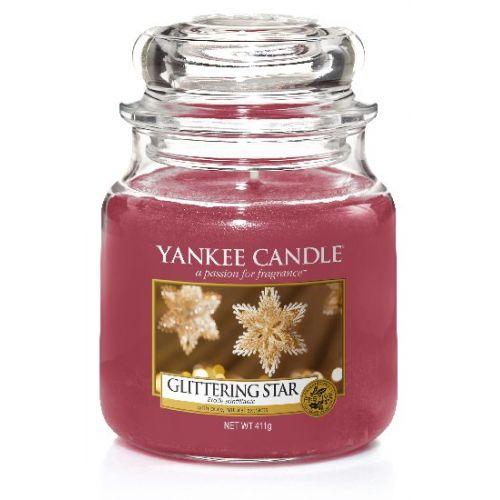 Yankee Candle / Sviečka Yankee Candle 411gr - Glittering Star