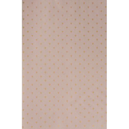 IB LAURSEN / Darčekový baliaci papier Hearts Malva-10m