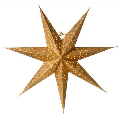 watt & VEKE / Závesná svietiaca hviezda Donna Gold 60 cm