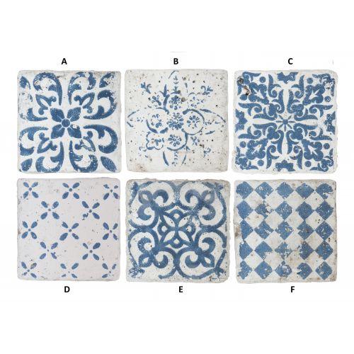 IB LAURSEN / Mini keramická kachlička Marrakech Blue