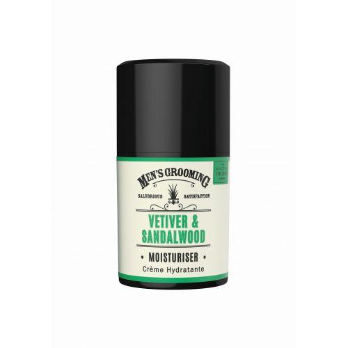 SCOTTISH FINE SOAPS / Pánsky hydratačný pleťový krém Vetiver a santalové drevo 50ml