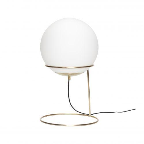 Hübsch / Stolná lampa Ball/brass
