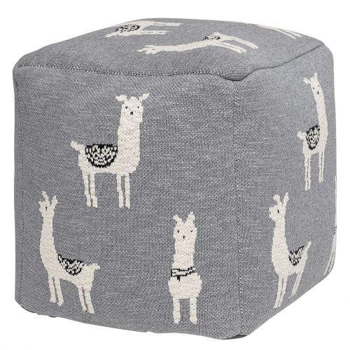 Bloomingville / Detský taburet Grey Llama