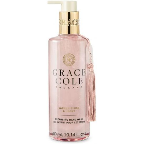 Grace Cole / Tekuté mydlo na ruky Vanilla Blush & Peony 300ml