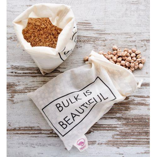 Bag-again / Zero waste vrecúško Bulk is beautiful