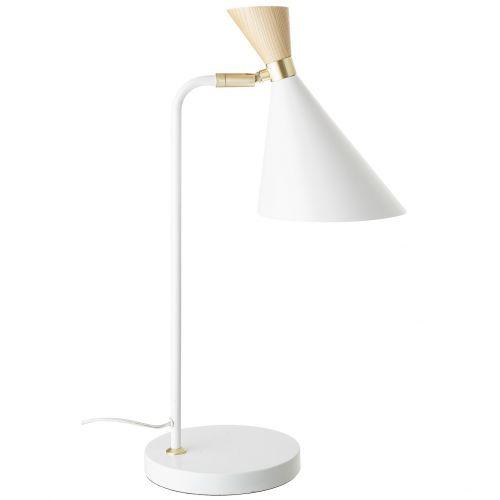 Bloomingville / Kovová stolná lampa Elegant Gold Wood