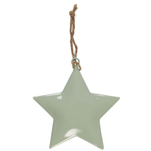 IB LAURSEN / Dekoratívna hviezdička Metal Green