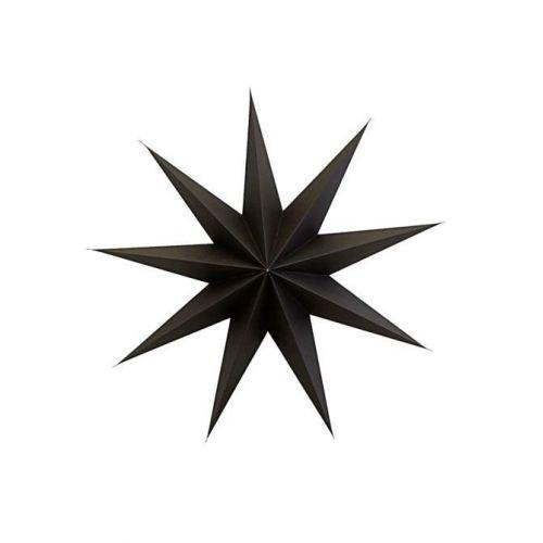 House Doctor / Vianočná papierová hviezda 9 Point Brown