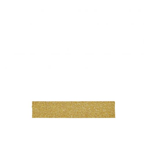 MADAM STOLTZ / Dizajnová samolepiaca páska Glitter gold